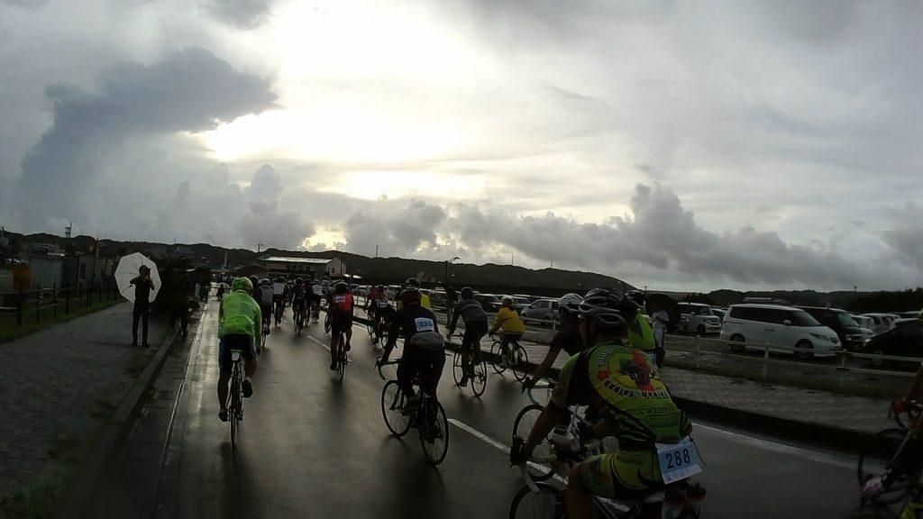 ジロ・デ・種子島2018 大会参加レポート:スタート日ポ公園