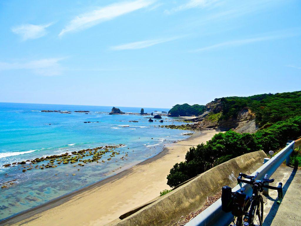 種子島トライアスロン(種トラ)バイクコース:犬城海岸