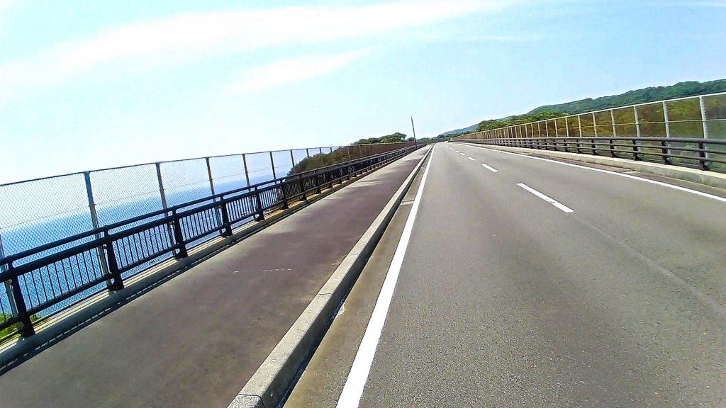 ジロ・デ・種子島(島半周の部)ーサイクリング約35km地点:カシミア橋