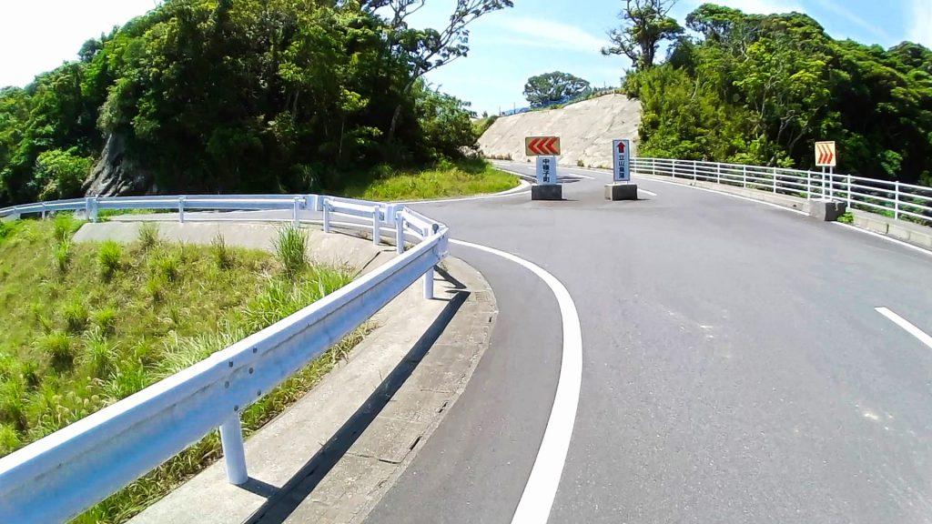 ジロ・デ・種子島(島半周の部)ーサイクリング約37km地点:立山