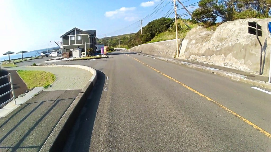 ジロ・デ・種子島(島半周の部)ーサイクリング約61km地点:龍星館と展望休憩所