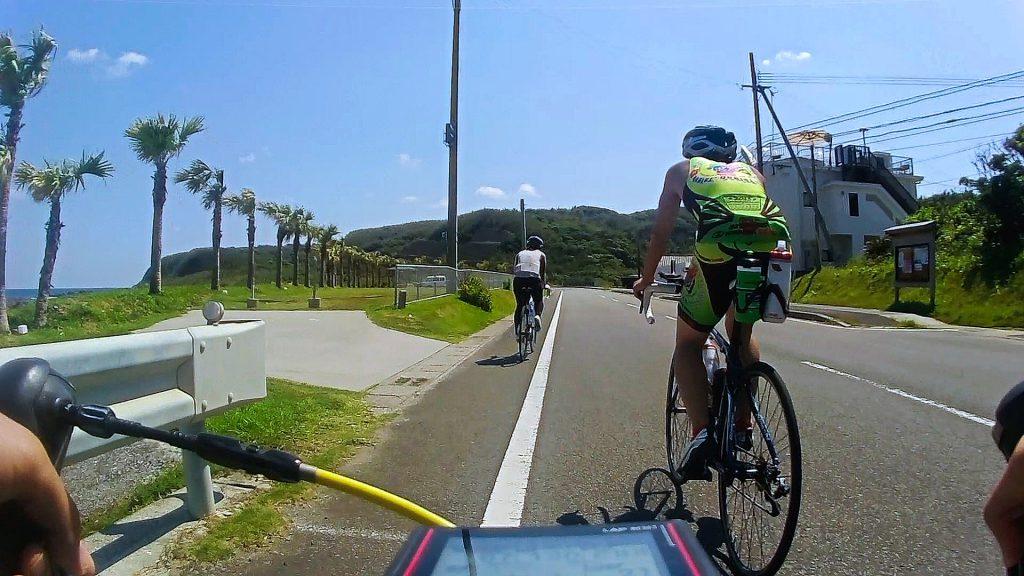 種子島トライアスロン(種トラ)バイクコース:浅川海岸