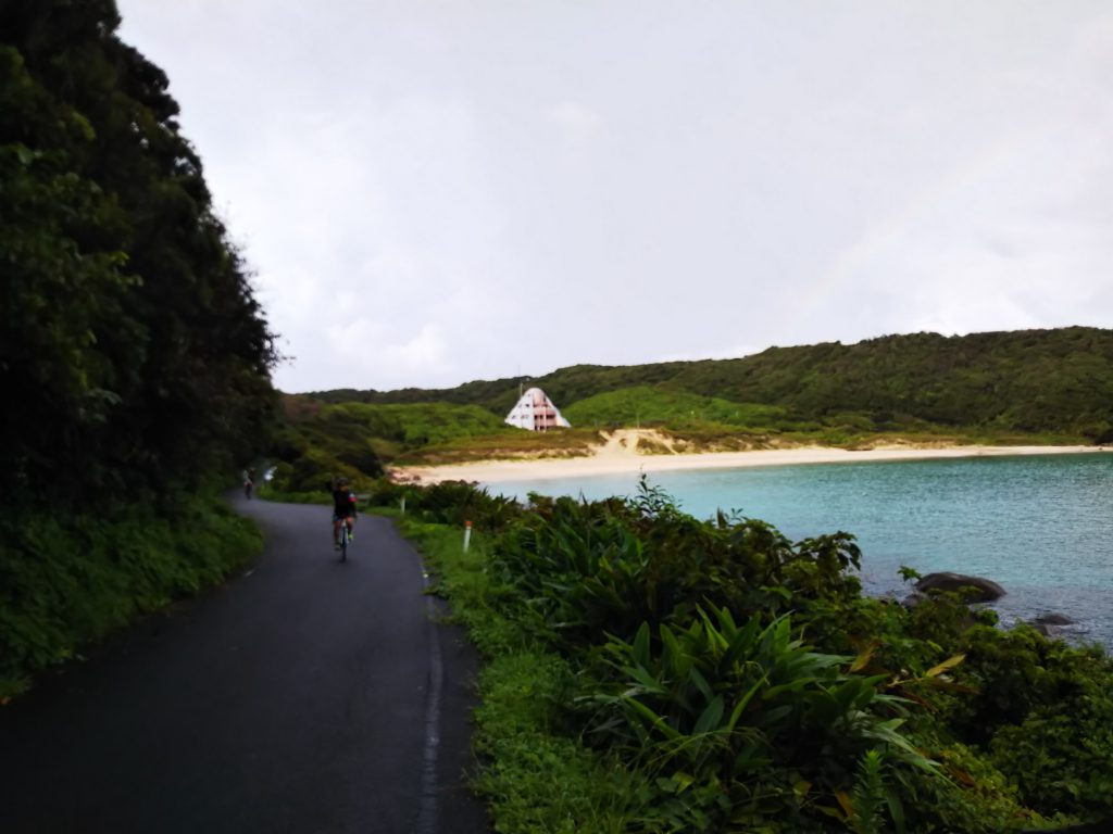ジロ・デ・種子島2018 大会参加レポート:浦田海水浴場北側写真スポット周辺