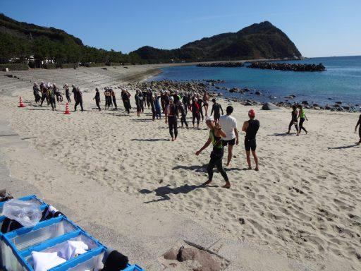 入水チェック:こしき島アクアスロン2018 参加レポート