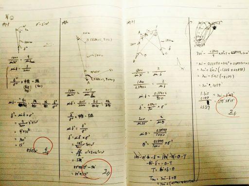 ◆測量士補試験 合格体験記(勉強時間、勉強方法)