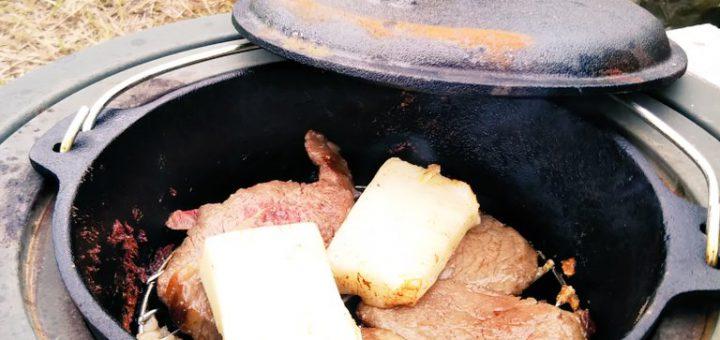 【ザワワ村】開拓物語 第23話「ダッチオーブンとウグイス」